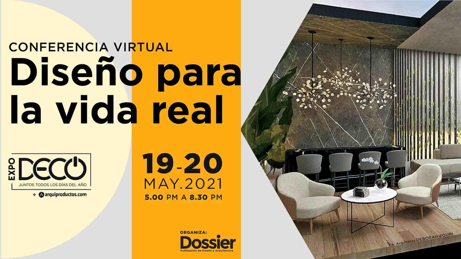 Conferencia Virtual - Diseño para la vida real