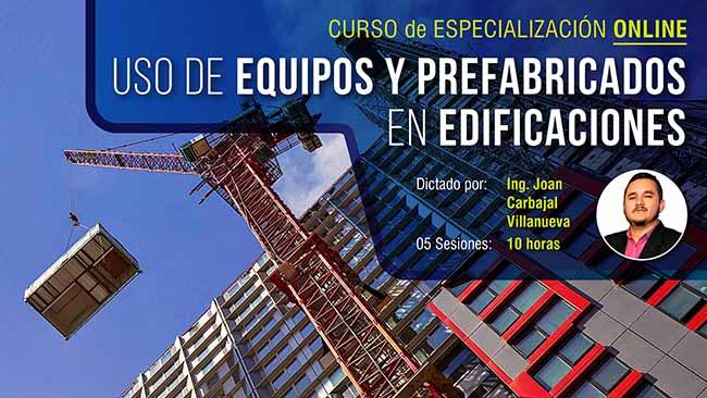 Uso de equipos y prefabricados en proyectos de edificaciones – Contexto Covid