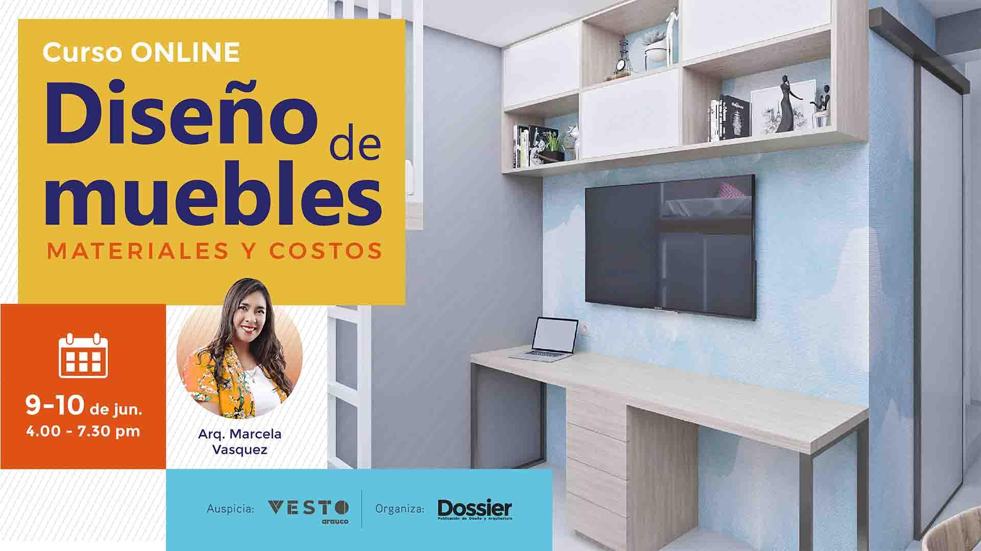 Diseño de muebles, materiales y costos