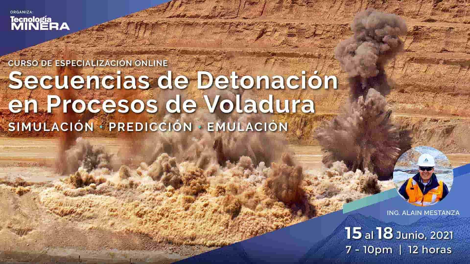 Secuencias de Detonación en Procesos de Voladura. Simulación - Predicción - Emulación.