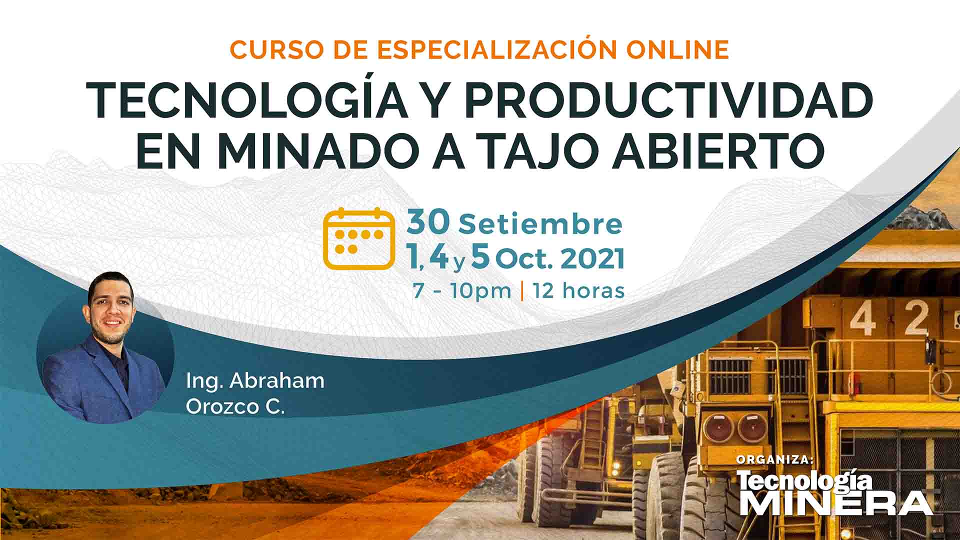 Tecnología y productividad en minado a tajo abierto