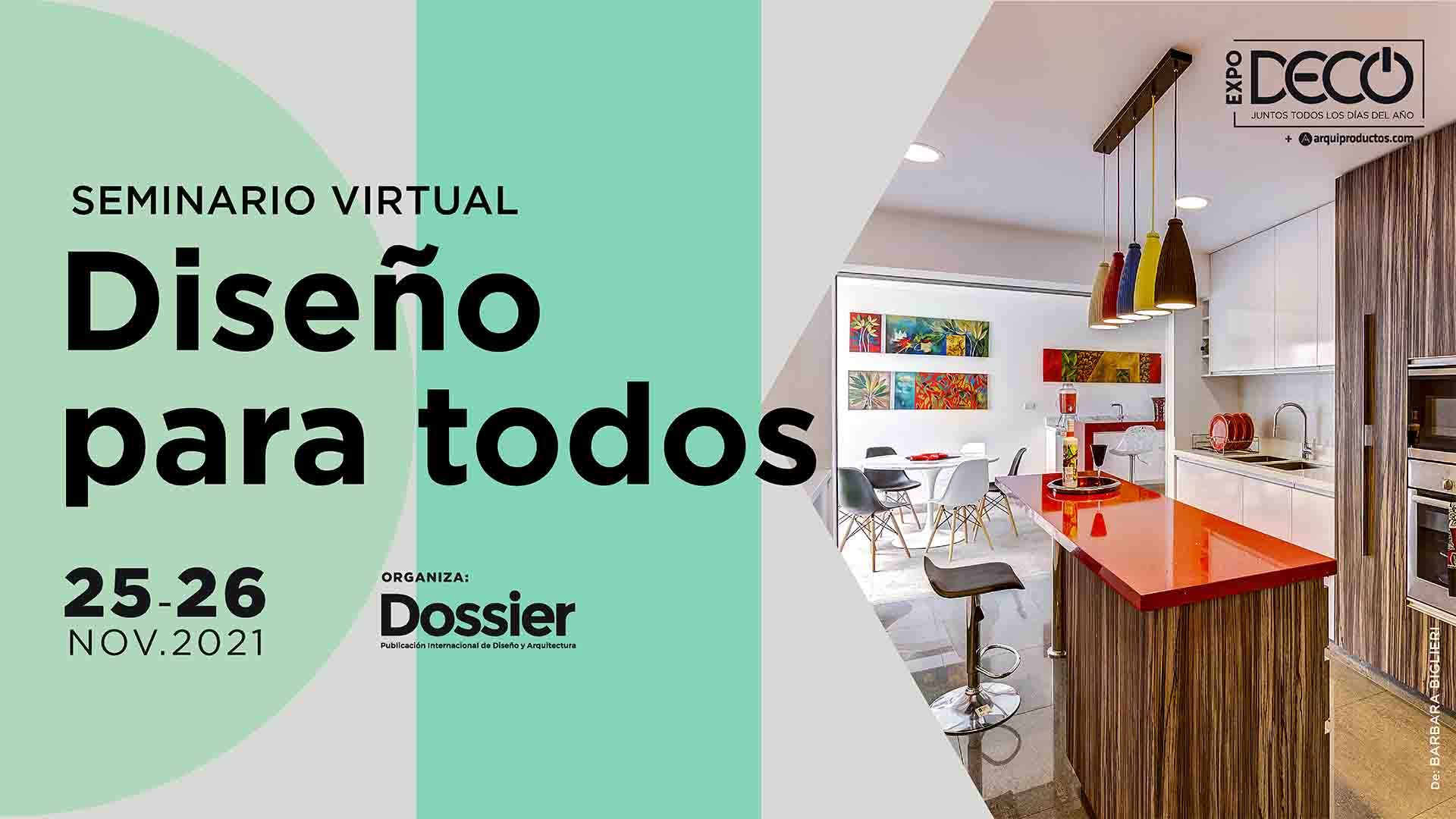 Seminario virtual - Diseño para todos.