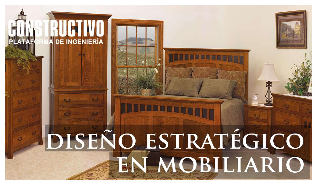 Diseño estratégico aplicado a Proyectos de Mobiliario para espacios Residenciales