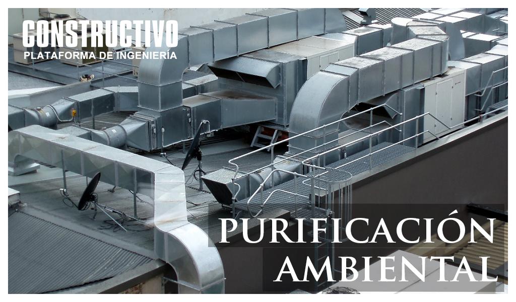 Purificación ambiental con equipos de Ionización