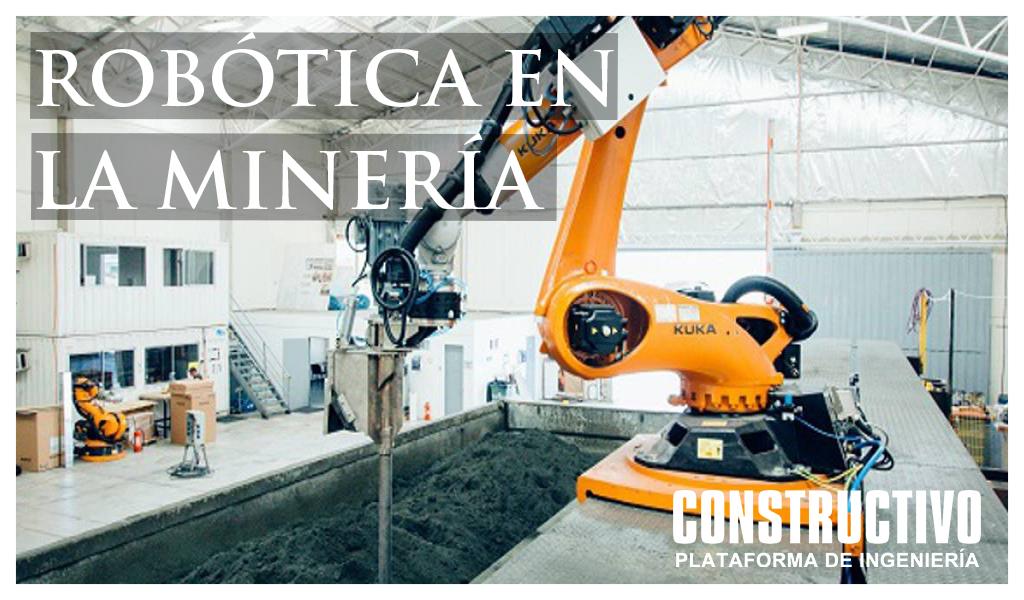 Soluciones robóticas y tecnologicas para la minería