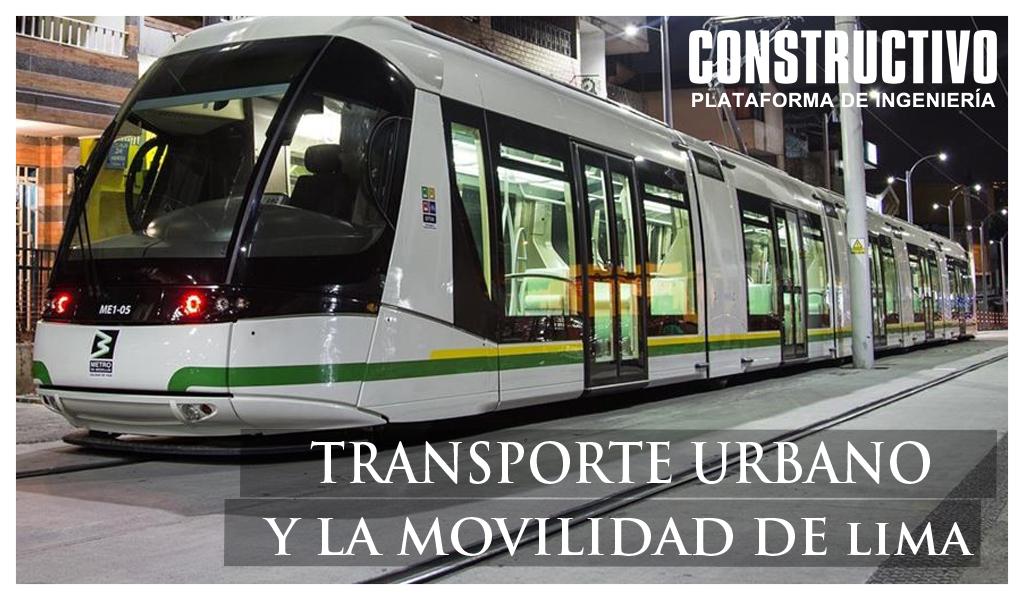 Transporte Urbano y la Movilidad de Lima