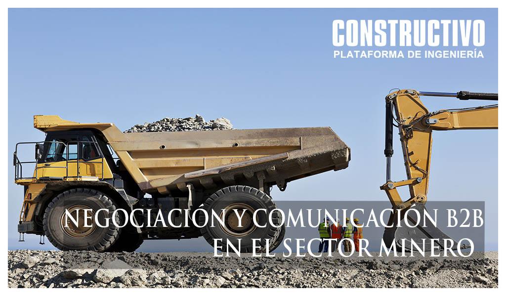 Negociación y Comunicación B2B en el sector minero
