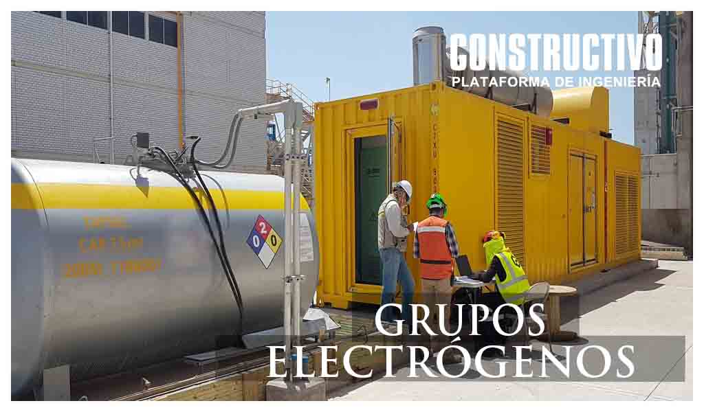 Utilización de grupos electrógenos para el sector construcción