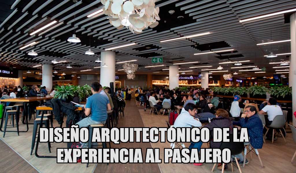El diseño arquitectónico de la experiencia al pasajero