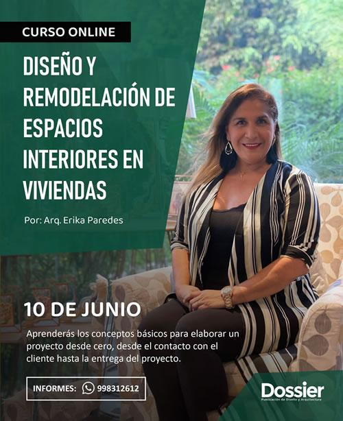 Curso Especializado Online: Diseño y remodelación de espacios interiores en viviendas