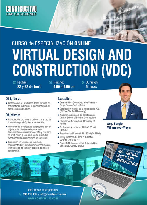 VDC - Virtual Design and Construction