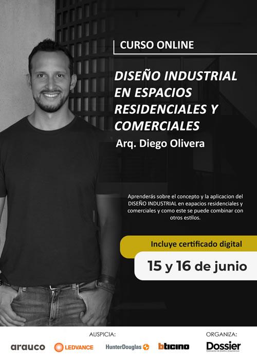 Curso Online: Diseño industrial en espacios residenciales y comerciales