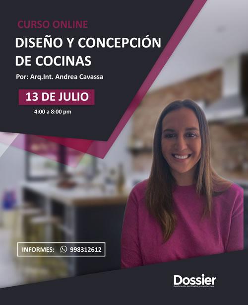 Curso especializado online: Diseño y Concepción de Cocinas