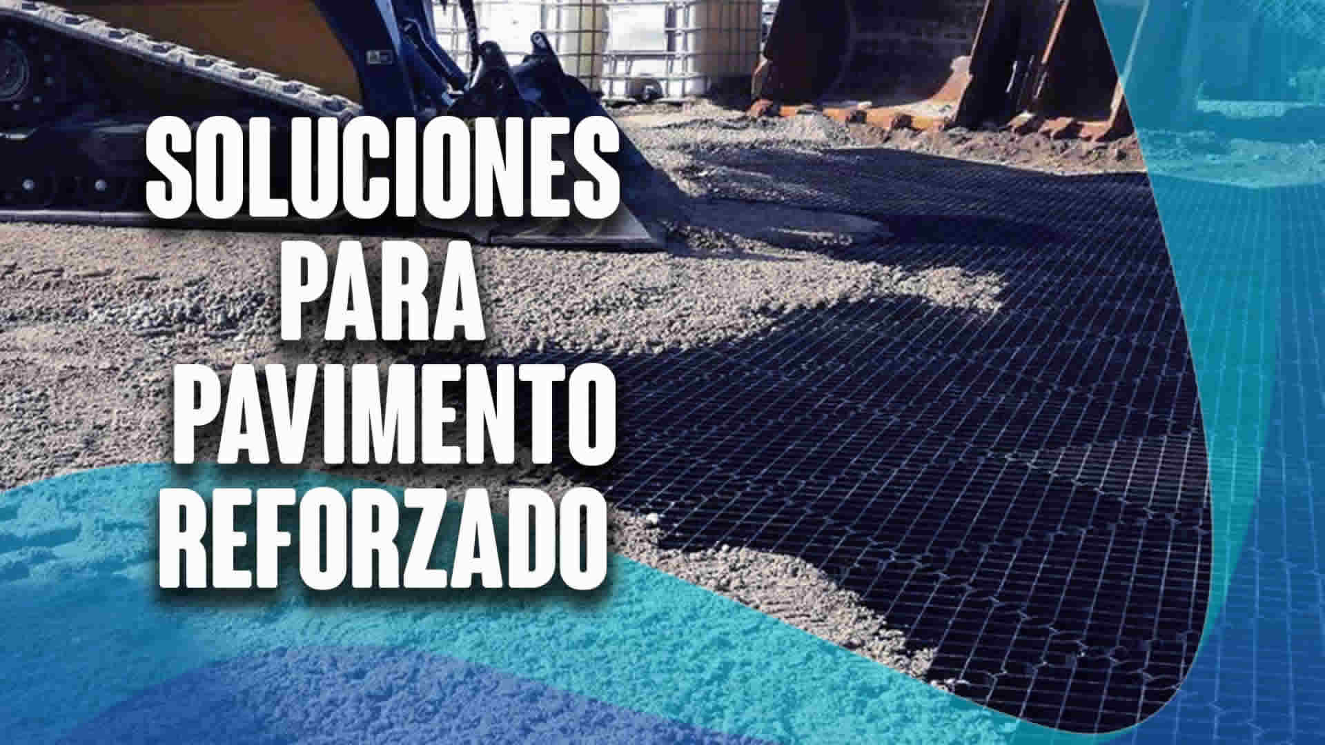 Soluciones para pavimento reforzado