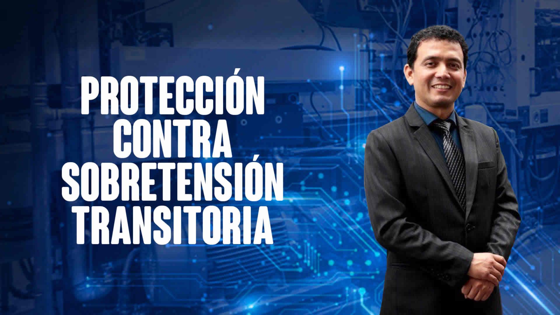 Protección contra sobretensión transitoria