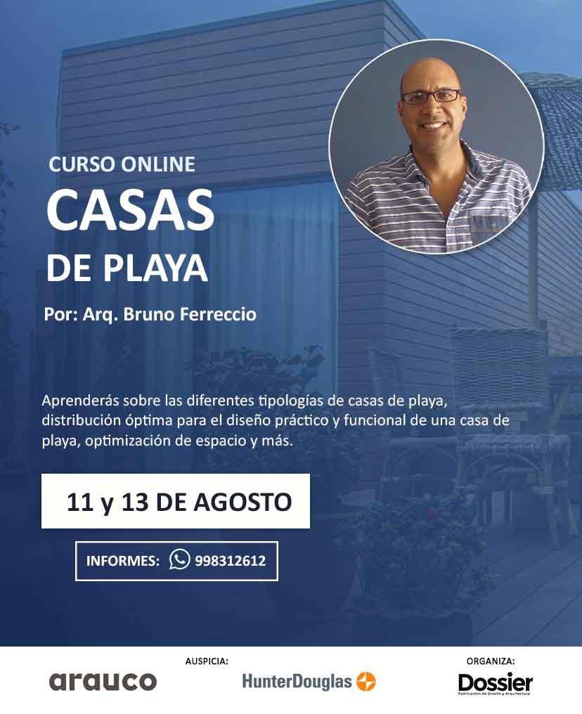 CURSO ONLINE: CASAS DE PLAYA