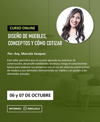 Curso online: Diseño de muebles, conceptos y como cotizar