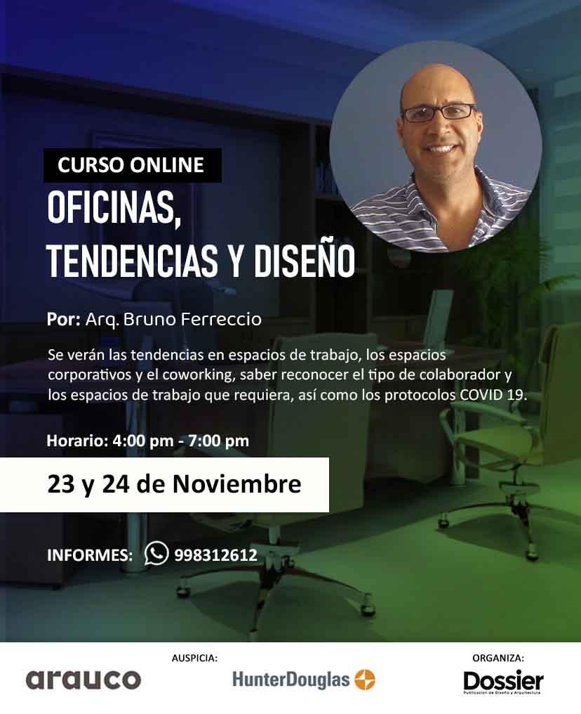 Curso: Oficinas, tendencias y diseño