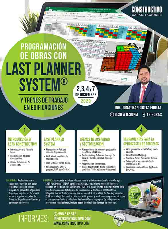 Planeamiento y programación en obras de edificaciones