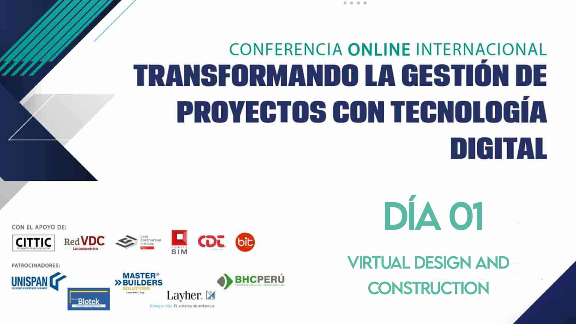 Día 01 - Virtual Design and Construction