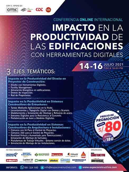 Impacto en la Productividad de las Edificaciones con Herramientas Digitales