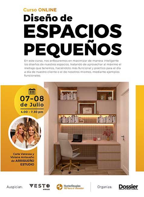 Diseño de espacios pequeños, espacios multifuncionales, muebles y materiales