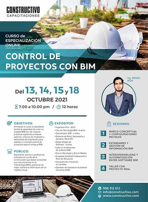 Control de Proyectos con BIM